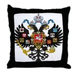 Romanov Crest Throw Pillow
