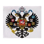 Romanov Crest Throw Blanket