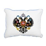 Romanov Crest Rectangular Canvas Pillow