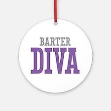 Barter DIVA Ornament (Round)