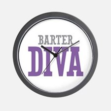 Barter DIVA Wall Clock