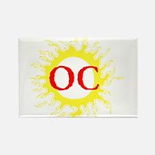OC! Ocean City! Rectangle Magnet