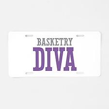 Basketry DIVA Aluminum License Plate