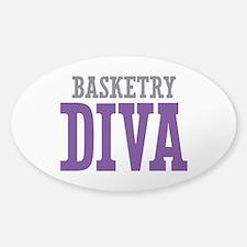 Basketry DIVA Sticker (Oval)