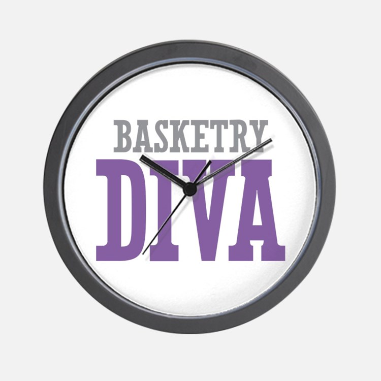 Basketry DIVA Wall Clock