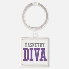 Basketry DIVA Square Keychain