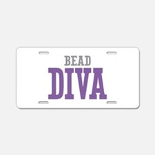 Bead DIVA Aluminum License Plate