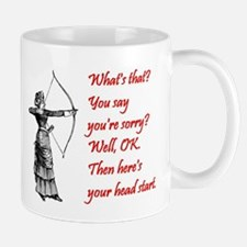 Lady Archer - Here's your head start Mug