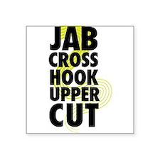 Jab Cross Hook Upper-cut Sticker