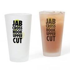 Jab Cross Hook Upper-cut Drinking Glass
