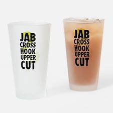 Jab Cross Hook Upper-cut Drinking Glass