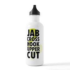 Jab Cross Hook Upper-cut Water Bottle