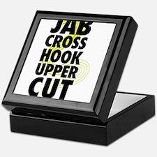 Jab Cross Hook Upper-cut Keepsake Box