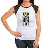 Kickboxing Women's Cap Sleeve T-Shirt