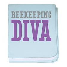 Beekeeping DIVA baby blanket