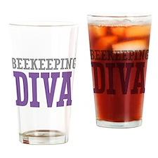 Beekeeping DIVA Drinking Glass