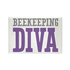 Beekeeping DIVA Rectangle Magnet