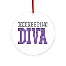 Beekeeping DIVA Ornament (Round)