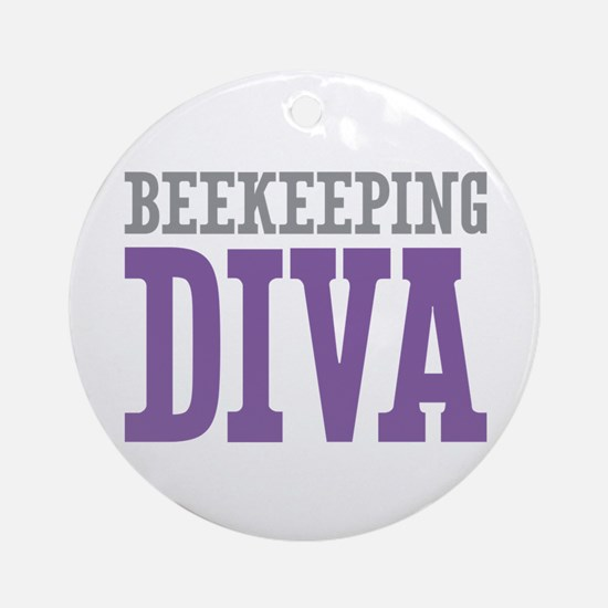 Beekeeping DIVA Ornament (Round)