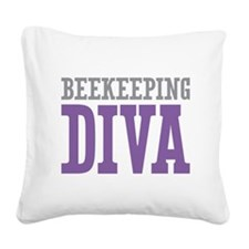 Beekeeping DIVA Square Canvas Pillow