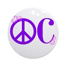 OC! Ocean City! Ornament (Round)