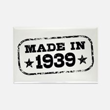 Made In 1939 Rectangle Magnet