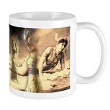 Mata Hari Collage Mug
