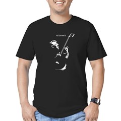 Peter White High Contrast Fitted Men's T-Shirt