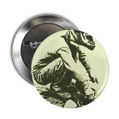 "T-Rex Gold miner 2.25"" Button"
