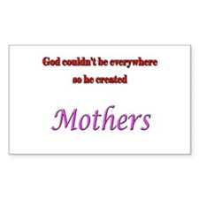 God and Mothers Decal