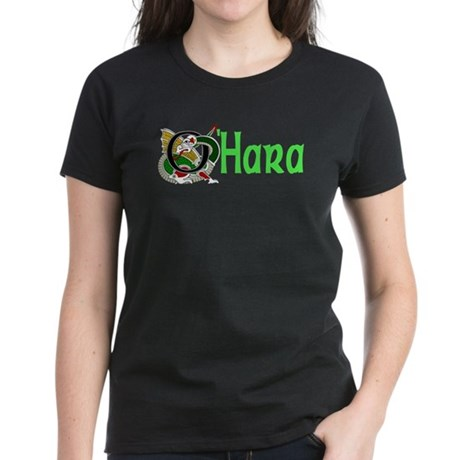 OHara Celtic Dragon Women's Dark T-Shirt