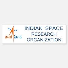 ISRO - India in Space Bumper Bumper Sticker