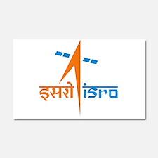 ISRO - India in Space Car Magnet 20 x 12