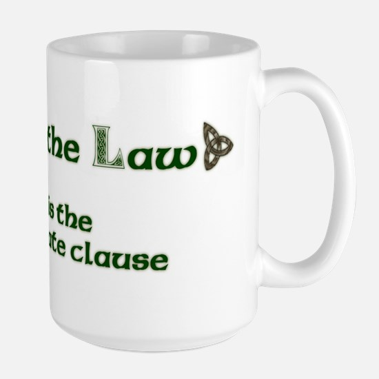 Love is the Law Large Mug