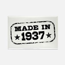 Made In 1937 Rectangle Magnet