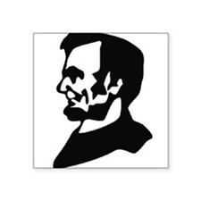 Abraham Lincoln Ink Profile Sticker