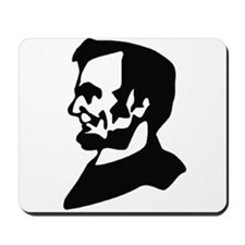 Abraham Lincoln Ink Profile Mousepad