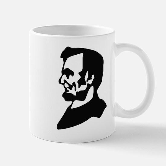Abraham Lincoln Ink Profile Mug