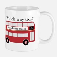 Which Way to 221b? Mug