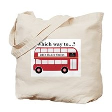 Which Way to 221b? Tote Bag