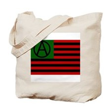 Anarchist American Flag Tote Bag