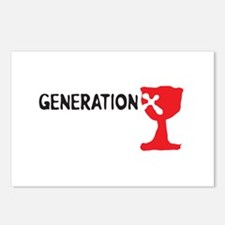 Generation X Postcards (Package of 8)