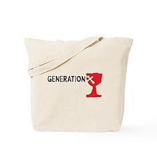 Generation X Tote Bag