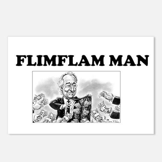 Flimflam Man - Bernie Mad Postcards (Package of 8)