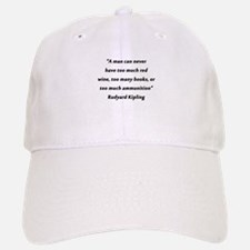Kipling - Man Can Never Have Baseball Baseball Baseball Cap