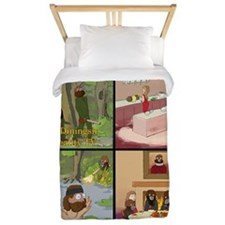 Surreality TV Duck Dining Sir Twin Duvet