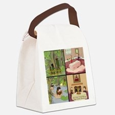 Surreality TV Duck Dining Sir Canvas Lunch Bag