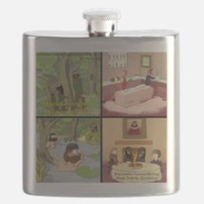 Surreality TV Duck Dining Sir Flask