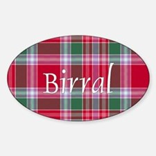Tartan - Birral Sticker (Oval)