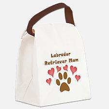 Labrador Retriever Mom Canvas Lunch Bag